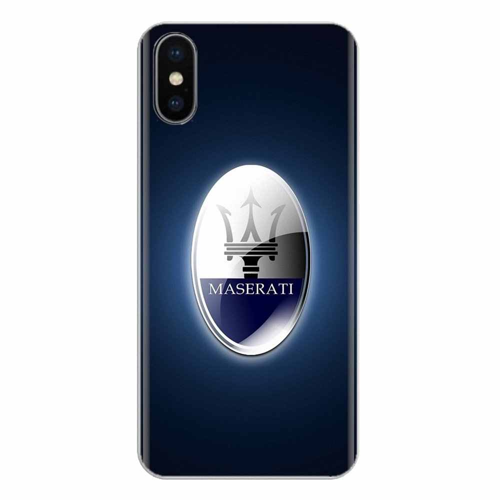 Silikon Telefon Shell Cover Für Huawei G7 G8 P7 P8 P9 P10 P20 P30 Lite Mini Pro P Smart Plus 2017 2018 2019 super auto Maserati