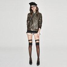 Женская короткая куртка из искусственной кожи,, Jia Zehua, весна и осень, стиль, корейский стиль, короткая куртка, BF пальто, женская повседневная куртка