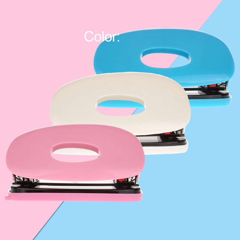 Cute Double Hole Punch 2 Holes Paper Punchers A4A5a6B5B6 Planner Scrapbooking Tool Cut 20 Sheets School And Office Stationery