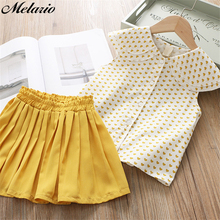 Sotida Girls Dresses 2017 New Brand Princess Dress Flowers decorated summer dress Lovely Girls Clothes Children Clothing for3-7Y