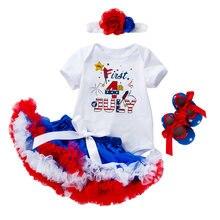 Детская юбка пачка без рукавов на День Независимости платье