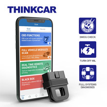 ThinkCar – outil de Diagnostic automobile professionnel 1s, lecteur de code OBD2, PK AP200, Bluetooth 5.0, adaptateur, Scanner