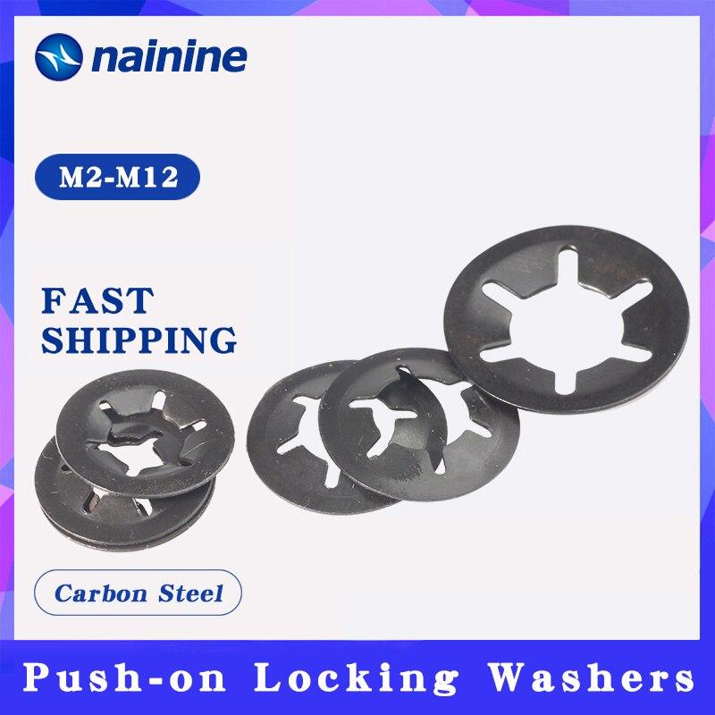 [M2-M12] 65Mn зуб Starlock нажимайте на фиксирующие шайбы быстроскоростные пружинные шайбы
