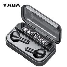 Yaba tws беспроводные наушники 9d стерео bluetooth спортивная