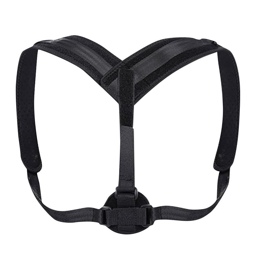 Posture Corrector Buckle Pull Back Shoulder Correction Belt Adjustable Breathable