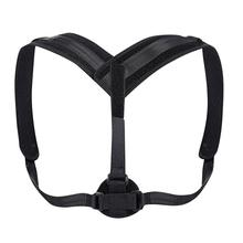 цены Posture Corrector Buckle Pull Back Shoulder Correction Belt Back Corrector Adjustable Breathable Posture Correction Belt