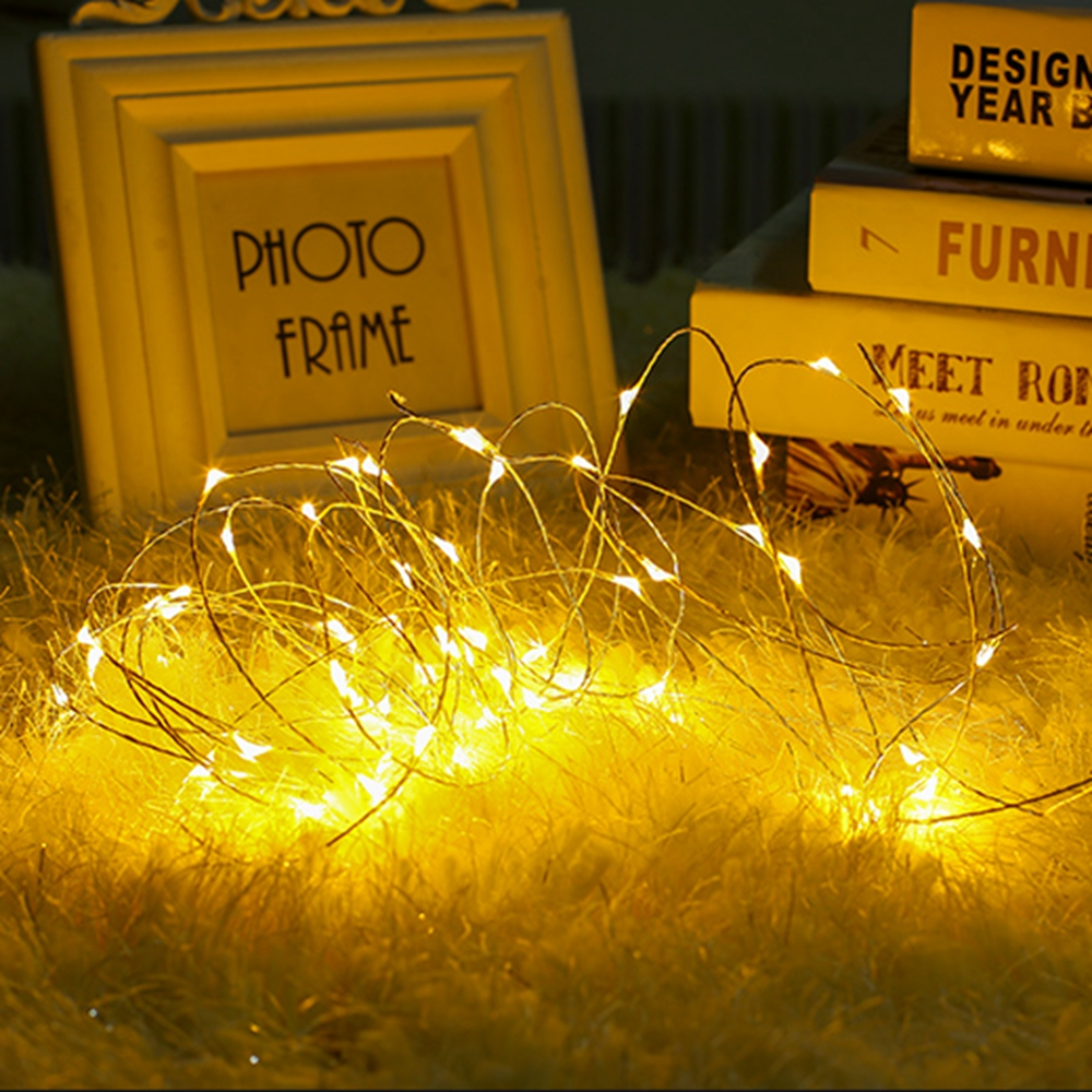Led String Lights Holiday Lighting 1M 2M 5M 10M 20M Copper Wire Christmas Wedding Garland Party Decoration Fairy Lights