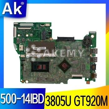 448.03N03.001M for Lenovo FLEX3-1470 YOGA 500-14IBD notebook motherboard100% test work  CPU Pentium 3805U GT920M 2G