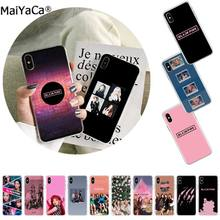 MaiYaCa BLACK PINK BLACKPINK kpop collage black Phone Case Cover Shell for Apple iphone 11 pro 8 7 66S Plus X XS MAX 5S SE XR(China)