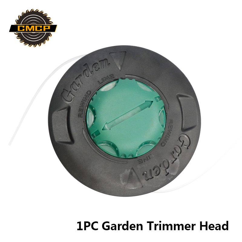 1pc Universal Feed Line Trimmer Head Grass Trimmer Head For Gasoline Brush Cutter Garden Tools Trimmer Head Garden Tools