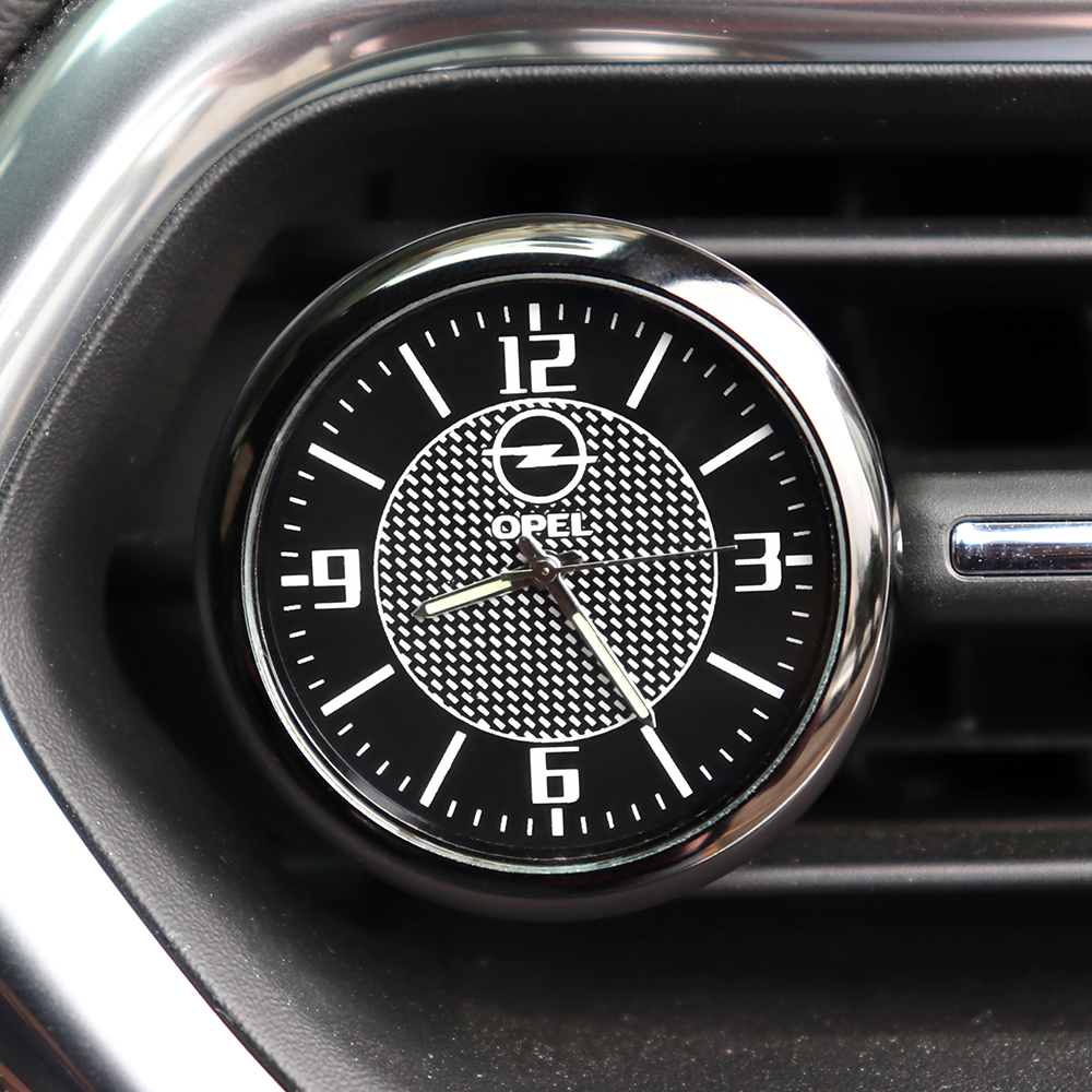 Car Clock interior Auto Accessories Dashboard Decoration For <font><b>Opel</b></font> Vectra C Meriva Omega Astra H G J <font><b>Corsa</b></font> <font><b>D</b></font> C B Insignia Zafira image