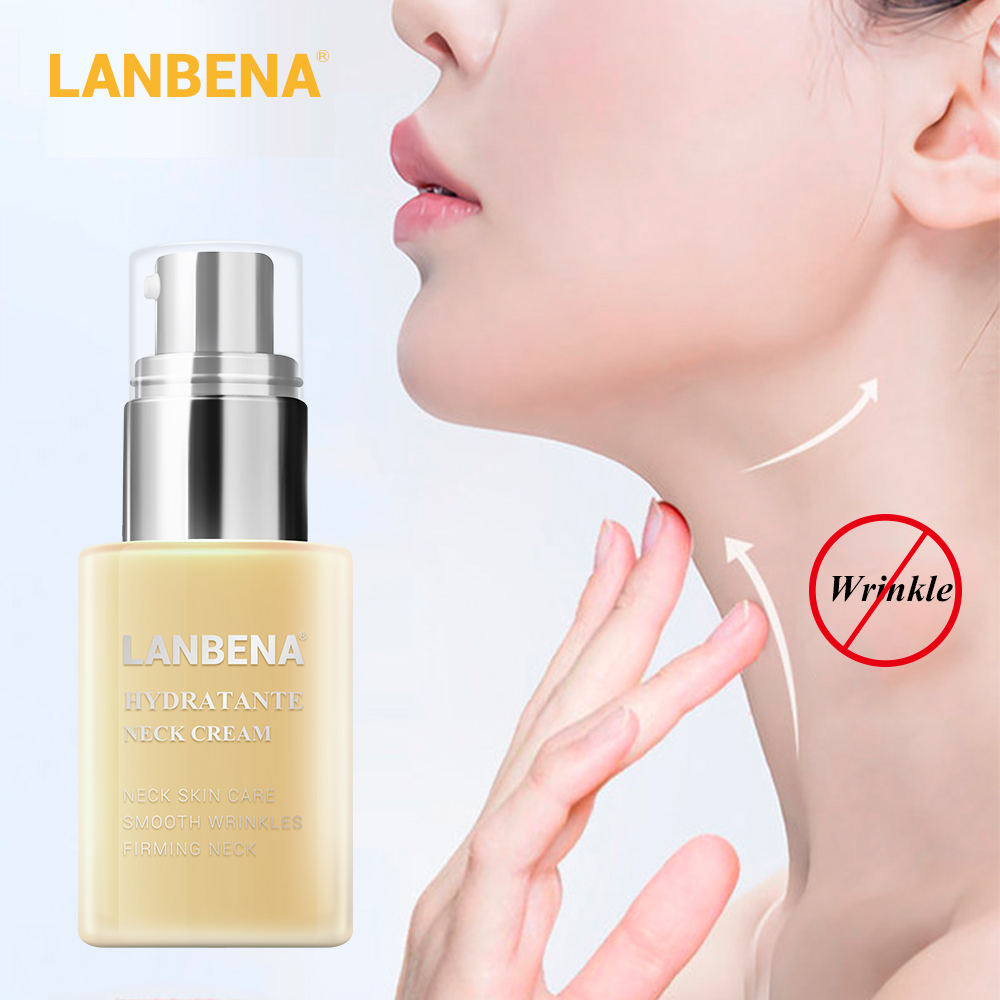 LANBENA Hydrating Neck Cream Neck Mask Anti Wrinkle Firming Moisturizing Reduce Fine Lines Relieving Health And Beauty Skin Care