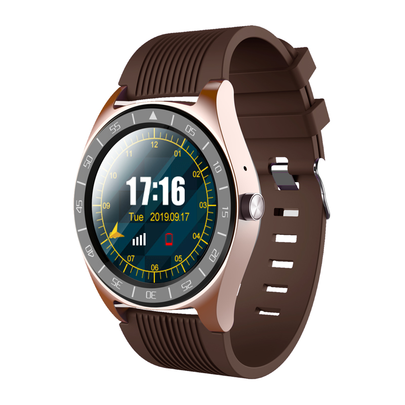 Sports smart watch phone information synchronization music health management information social touch screen independent call