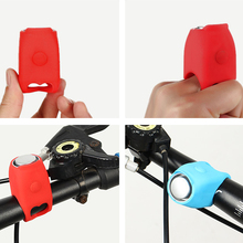 1PC 120dB Loud Bell Ring Silica Gel Waterproof IPX4 Safety Warning Alarm Cycling Handlebar Horn