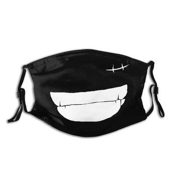 Máscara Ajustable de la sonrisa de Luffy One Piece Mascarillas de Anime Mascarillas de One piece Merchandising de One Piece