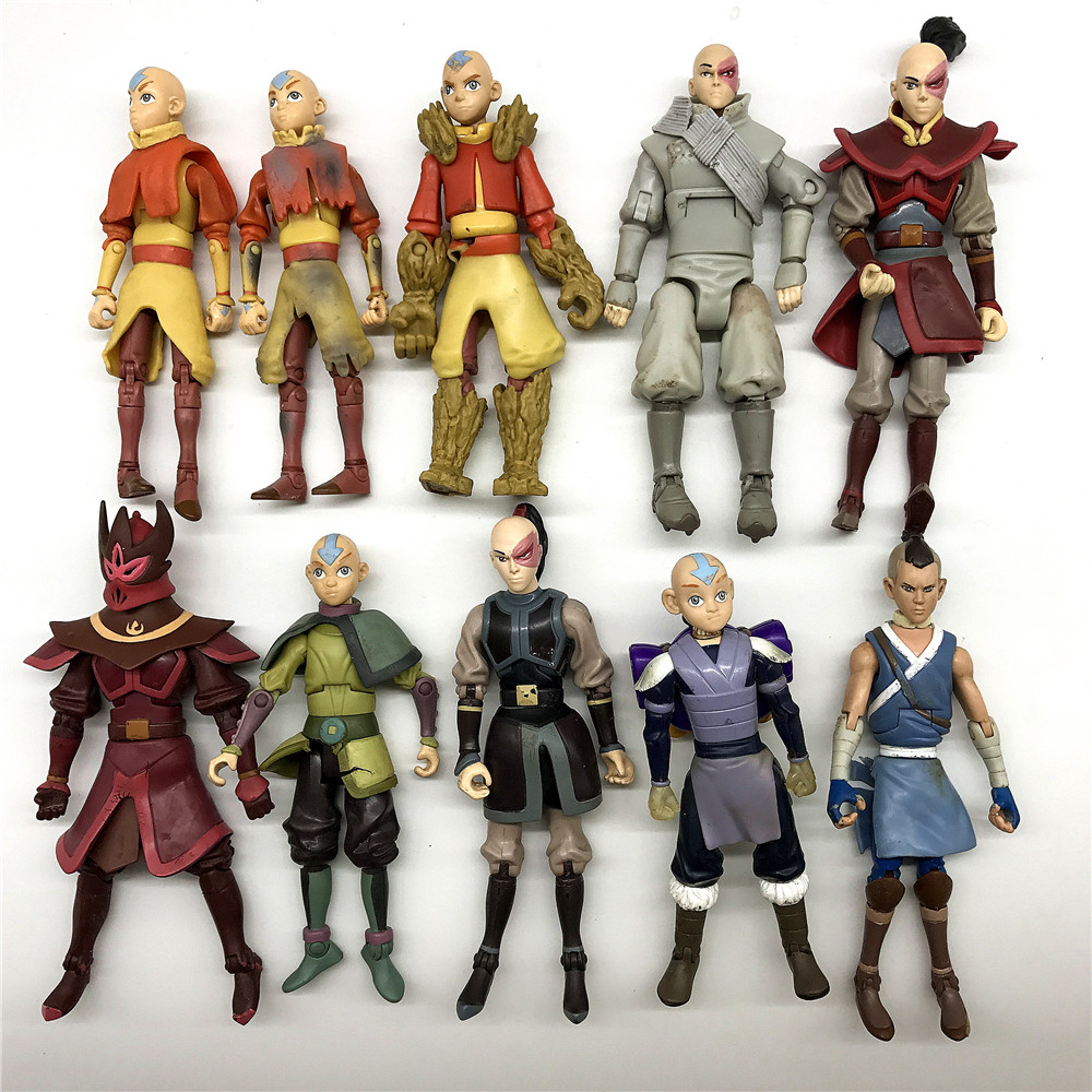 Avatar Series Of Characters The Last Airbenders Arctic Stealth Zuko Action Figure Model Toy Gift Limbs Can Move Have Flaws