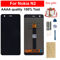 For Nokia 2 N2 TA 1029 TA 1035 Touch Screen Digitizer Sensor Glass Panel + LCD Display Panel Screen Module Monitor Assembly