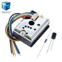 GREATZT GP2Y1014AU0F компактный оптический датчик пыли совместимый GP2Y1010AU0F GP2Y1010AUOF датчик дымовых частиц с кабелем
