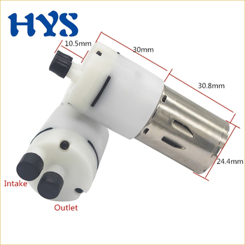 HYS DC 12V Water Pomp Flow 0.6-0.9L/min Diaphragm Pump Vacuum 12 V Volt Electric Pumps For Drinking DIY Hydraulic Miniature KLC dc water pomp 12v 1000 1200l min vacuum pump 12 v volt dc12v electric diaphragm pumps for drinking diy auto watering equipment