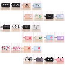 Cartoon Pencil Case for School Kawaii Cool Pencil Case Bag for Girls Boys Large Capacity Waterproof цена