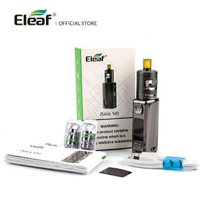 Image 5 - Original Eleaf iStick S80 Kit 80W 1800mAh with GZeno Tank GZ 1.2ohm Coil  Electronic cigarette VS istick pico istick kiya