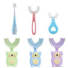 Szczoteczka do zębów dla dzieci dzieci zęby pielęgnacja jamy ustnej szczotka do czyszczenia miękkie jedzenie klasy silikonowe gryzaki szczoteczka do zębów dla dzieci noworodka przedmioty 2-12Y tanie tanio 25-36m 4-6y 7-12y CN (pochodzenie) YP0009 Ochronna szczoteczka do zębów Zwierząt Babies