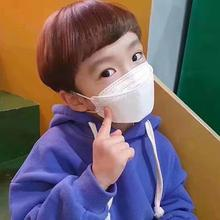 5pcs Children Kids Face Masks Non-woven Breathable Anti Dust Mouth Nose Covers Protection Non-disposable Filter Mask