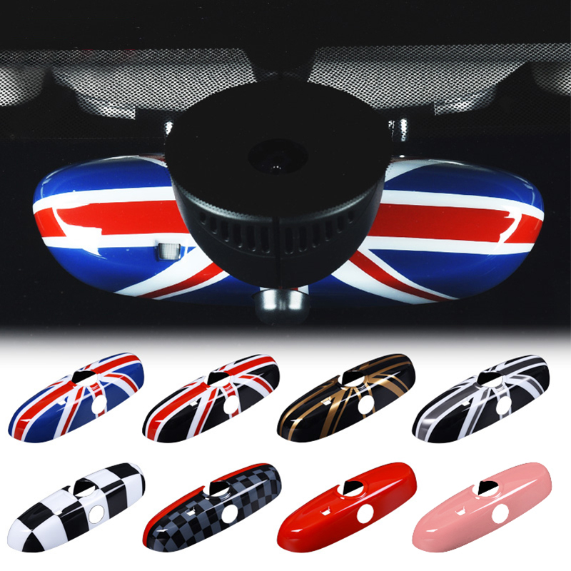 Car Interior Rearview Mirror Cover Decoration Accessories Car Styling For BMW MINI COOPER S JCW ONE F54 F55 F56 F57 F60 CLUBMAN