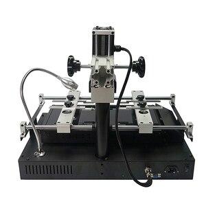 Image 2 - الأصلي الرسمي الظلام الأشعة تحت الحمراء بغا محطة إعادة العمل 2050 واط ماكينة سبائك اللحام IR8500 V.2 لإصلاح رقائق مع أدوات لحام