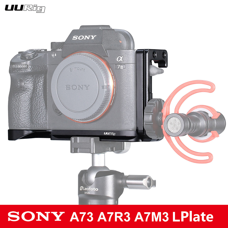 UURig R013 Quick Release A7R3 L Plate For Sony A7M3 L-Bracket For Sony A7 III /A7R III L Plate