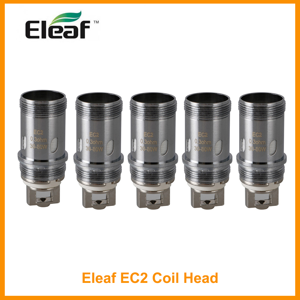 Original Eleaf <font><b>EC2</b></font> Coil Head For Eleaf Melo 4 atomizer iKuun Kit 0.3ohm/<font><b>0.5ohm</b></font> Head Vape Coil Electronic Cigarette image