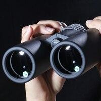 Telescópio portátil profissional dos binóculos do telescópio 12x42 da claridade alta para a caça esportes