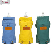 Pet Classic Dog Clothes Pets Coat Cave Cowboy Puppy Dog Clothes for Dog S-2XL Jeans Jacket Casual Style maggie carpenter cowboy s rules