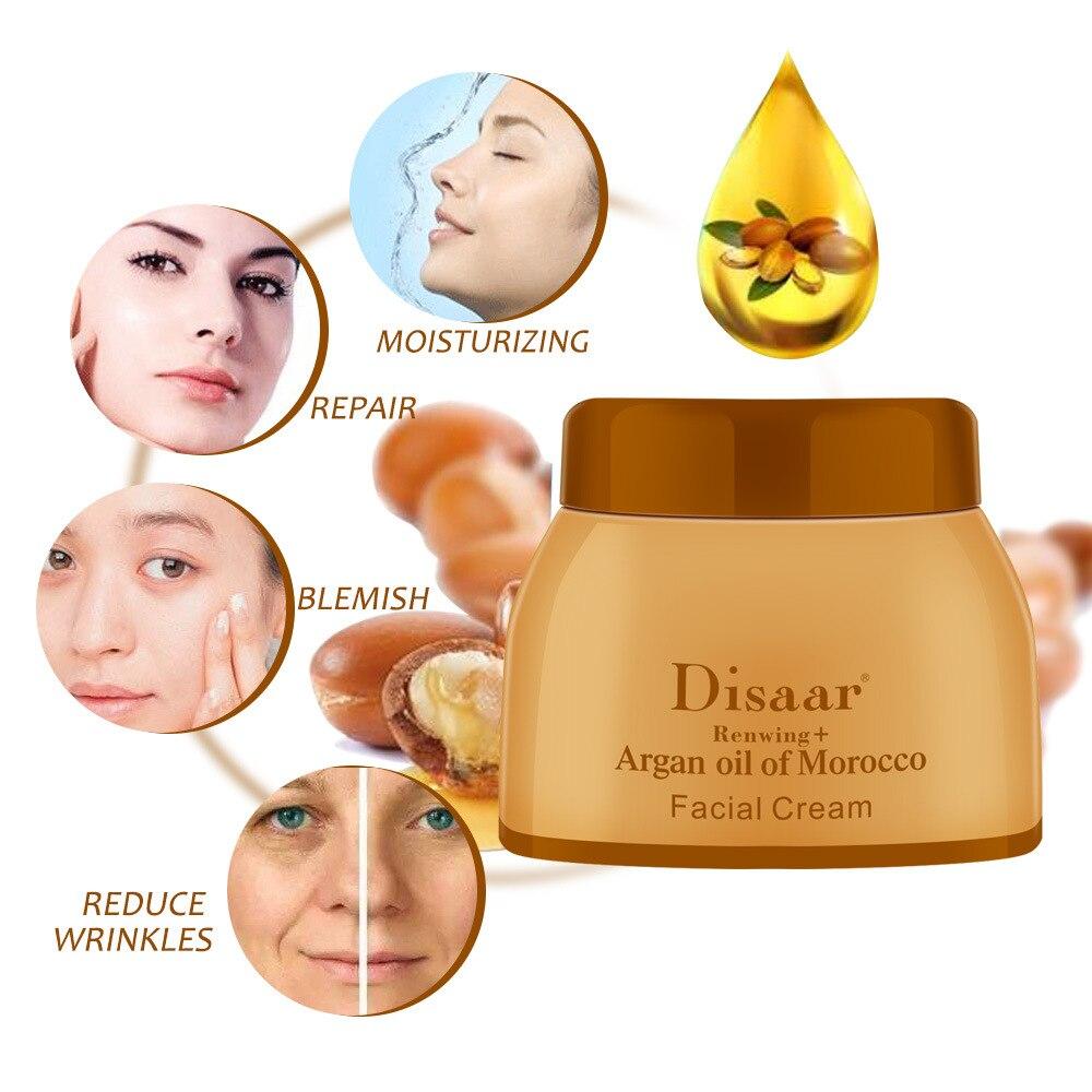 Argan Oil Morocco Cream Repair Lighten Blemish Face Cream Serum Skin Care Anti-aging Face Lifting Firming Smooth Cream 50g 3
