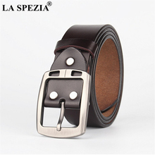 LA SPEZIA 180cm Extra Long Belt Men Oversized Genuine Leather Belt