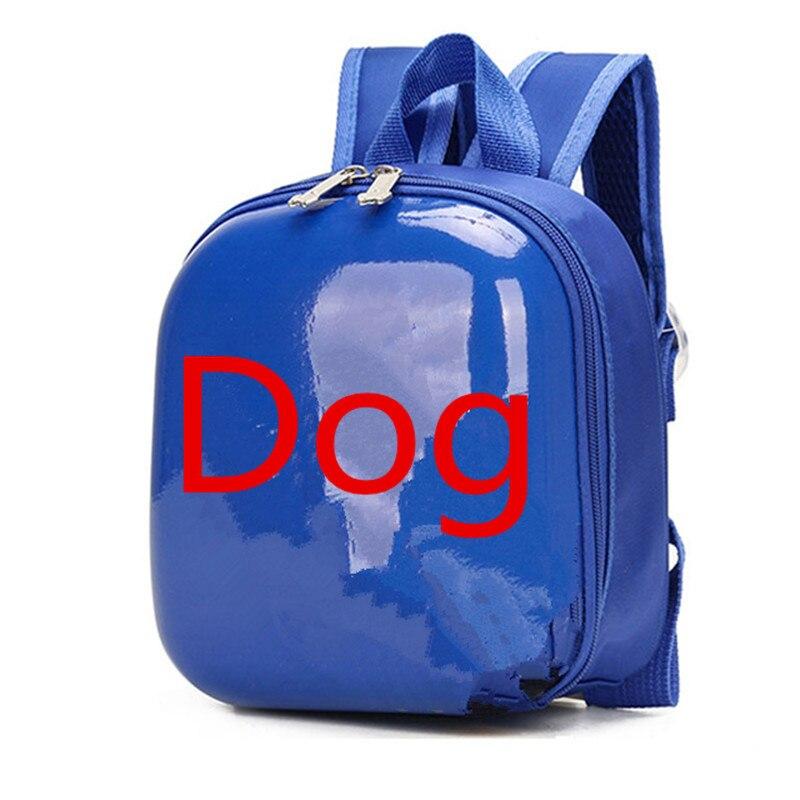 3D Собака Школьные сумки Детский мультяшный рюкзак для девочек прекрасный рюкзак для мальчика жесткий корпус рюкзак для малышей mochila escolar