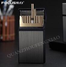 1 шт. Новый ультратонкий Модный чехол для сигарет, тонкая металлическая коробка, алюминиевая Подарочная коробка, мини-держатель для сигарет ...