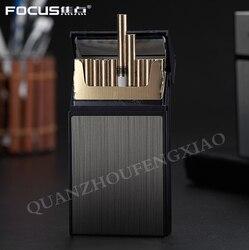 1 szt. Nowe Ultra cienkie, modne etui na papierosy Slim metalowe pudełko aluminiowe pudełko Mini uchwyt na papierosy 20 papierosów