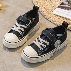 Image 1 - Zapatos para niños, novedad de primavera 2020, zapatillas informales para niños, moda, zapatos con cabeza de concha para niños, zapatillas transpirables para niños, Tenis Infantil