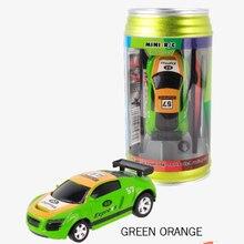 Цветной Радиоуправляемый Кокс Can мини Радиоуправляемый автомобиль электронные автомобили Радиоуправляемый микро гоночный автомобиль выс...