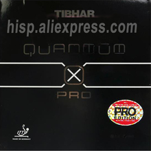 Original Tibhar quantum x pro edition table tennis rubber sticky rubber fast attack with loop ping pong game
