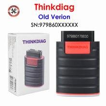 Thinkdiag – outil de Diagnostic automobile, Scanner de Diagzone, ancienne VERSION, système complet, prise OBD2, livraison gratuite