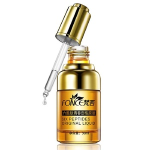 Image 5 - Fonce Anti Wrinkle Remover Facial Serum Plant Anti Aging Lifting Firming Face 25 55 Age Argireline Six Peptides Essence 30ml