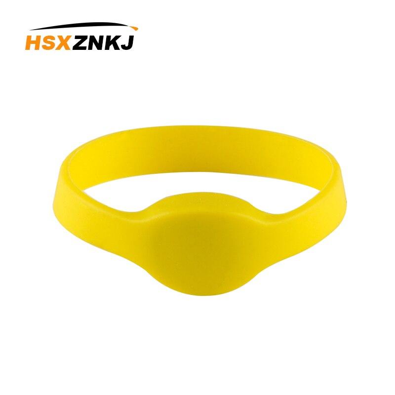 10pcs 125Khz RFID Bracelet TM4100 EM4100 Input Access Control Card RFID Bracelet Silicone Wristband Watch Access Control Card