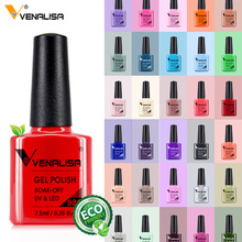 Venalisa 7 5ml Nail Gel Polish 60 Colors Free Shipping Top Sell For Nail Art Manicure Top Coat Soak Off Enamel UV Gel Varnish cheap CN(Origin) 7 5 ml 61508 UV Curable Polyurethane Resin 1 piece EU quality 24 months 35g pc SGS MSDS Nail art Salon Beauty Spa