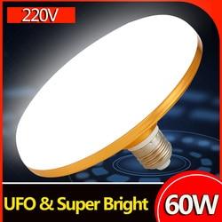 E27 LED Bulb 220V Led Lamp 15W 20W 30W 50W 60W Light Bulbs Bombilla Led Light 220V Ampoule Led E27 Spotlight for Home Lighting