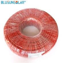 100 meter/Rolle hohe qualität 4mm2 (12AWG) Solar Kabel Pv Kabel Draht Kupfer Leiter VPE Jacke Certifiction