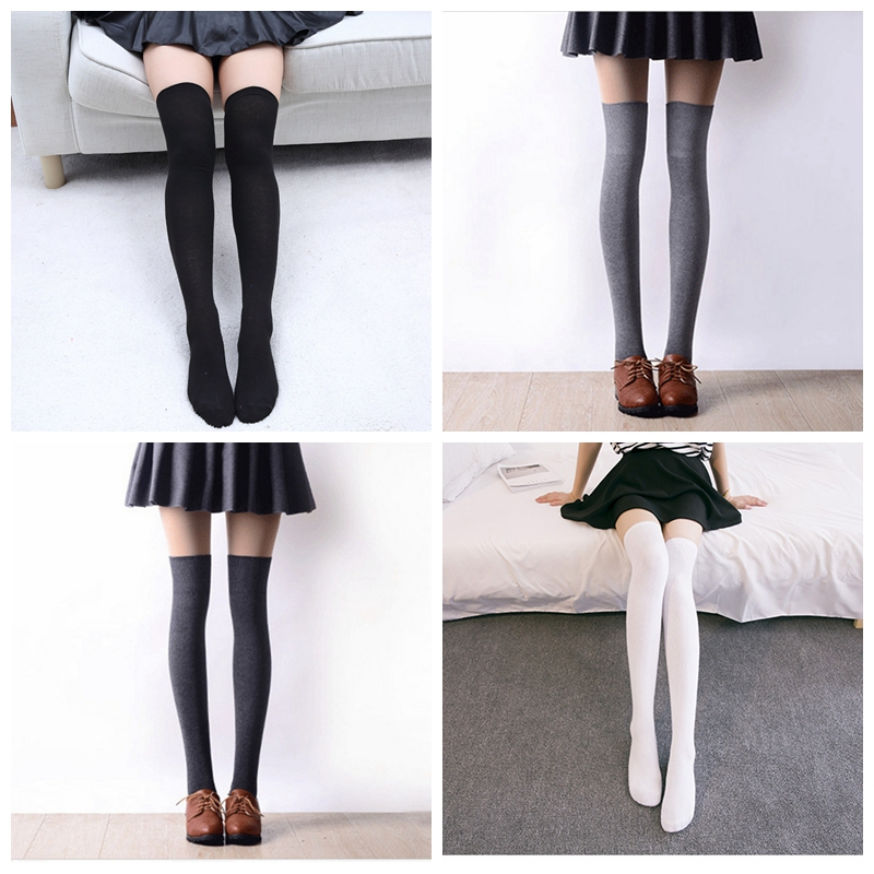 2019 Women Socks Stockings Warm Winter Thigh High Over The Knee Socks Long Cotton Stockings Medias Sexy Stockings