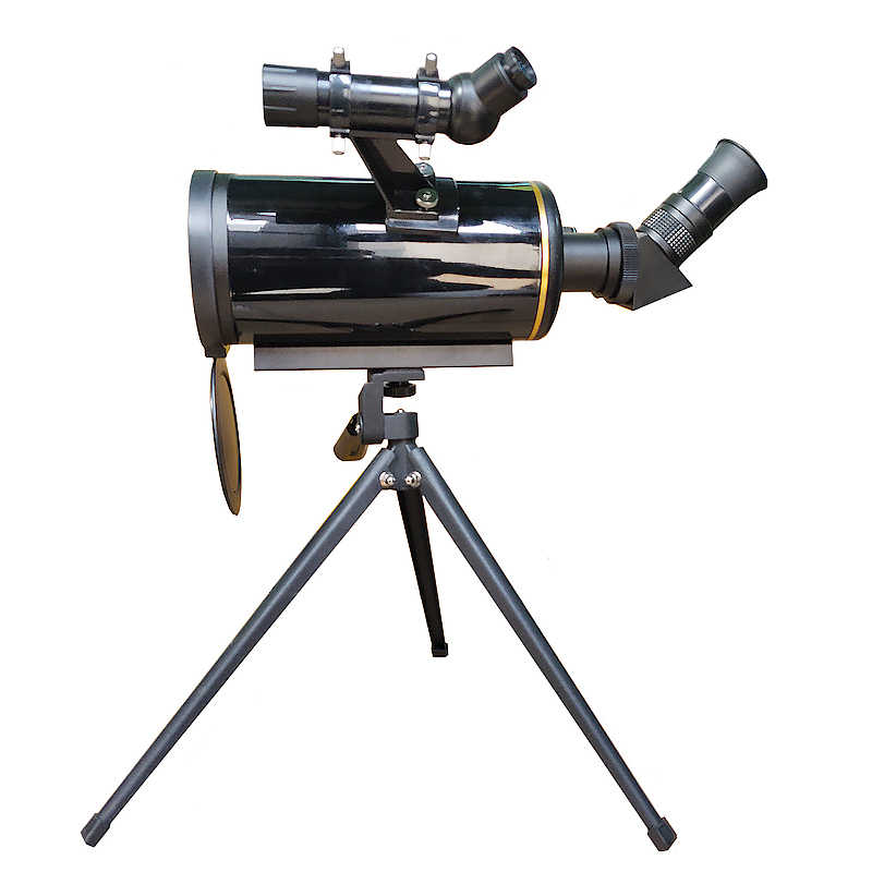 HD Maksutov Cassegrain 90/1000 الفلكي تلسكوب w/ترايبود 5x24 Finderscope طويل التركيز أحادي ل كوكب الفضاء مشاهدة