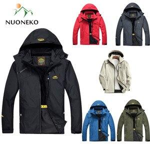 New Spring Autumn Men's Hiking Jackets Men Outdoor Sports Fishing Climbing Trekking Windbreaker Jacket Waterproof Rain Coat JN06